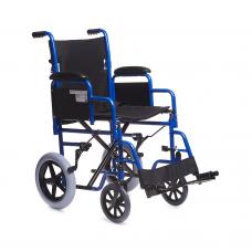 Кресло-каталка Н030С для инвалидов, грузоподъемность до 110 кг, цвет черный, ширина сиденья 41,5 см, вес 15,6 кг (200900006)