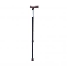 Трость односекционная  FS9206L металлическая, регулируемая по высоте 71,0-93,5 см,  без УПС (201700026)