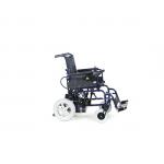 Кресло-коляска с электроприводом FS111A с откидными подножками