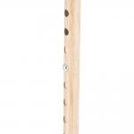 Трость одноопорная YU821 алюминиевая, с регулировкой по высоте 72,5-93,5 см, цвет: структура светлое дерево (20170000103)