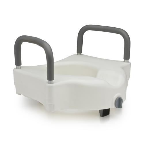 Съемное белое сиденье для туалета (насадка) С60250