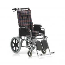 Кресло-коляска FS212BCEG для детей с ДЦП, механическая, съемные подножки и подлокотники, ширина сиденья 37 см, для роста 75-160 см, грузоподъемность 110 кг, вес 19,1 кг