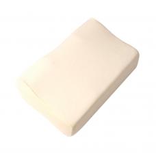 Подушка ортопедическая F 8024 c эффектом памяти, размер 50*30*15/10 см