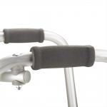 Ходунки металлические FS912L с регулировкой по высоте и передними колесами
