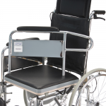 Кресло-коляска FS609GC механическая с санитарным оснащением для инвалидов