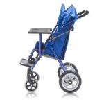 Кресло-коляска механическая для детей-инвалидов Н 035 (14 дюймов) со съемными подножками и съемными подлокотниками