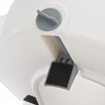 Съемное сиденье для туалета (насадка) с замком и подлокотниками С61550