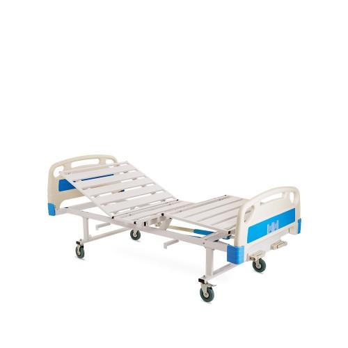 Четырехсекционная функциональная механическая кровать RS105-A с принадлежностями и регулировкой угла наклона