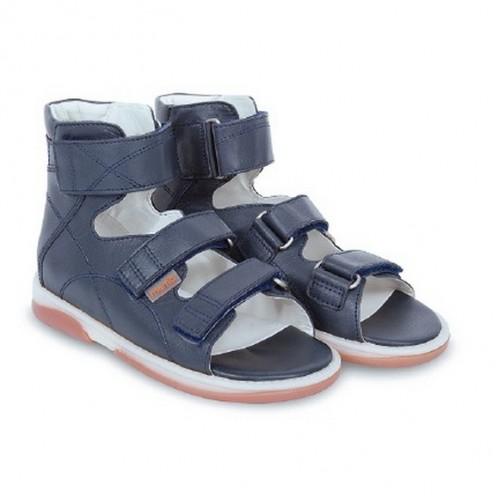 Детская ортопедическая обувь, темно-синяя модель HELIOS
