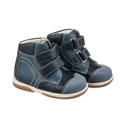 Детская профилактическая обувь, темно-синяя модель KARAT