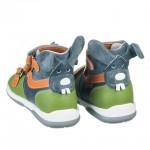 Детская профилактическая обувь, зелено-синяя модель BUNNY