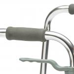 Ходунки металлические FS961L с регулировкой по высоте и складным сидением