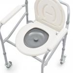 Механическая кресло-коляска FS696 с санитарным оснащением для инвалидов