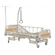 Кровать функциональная электрическая FS3238W четырехсекционная, с регулировкой угла наклона, с двумя боковыми рейлингами, грузоподъемность 250 кг, вес 100 кг
