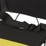 Кресло-каталка для инвалидов, грузоподъемность до 75 кг, цвет синий в клетку, ширина сиденья 36 см, вес 8,5 кг (200900011)
