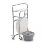 Кресло-коляска FS693 с санитарным оснащением для инвалидов