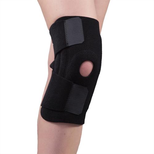 Фиксатор колена F1281 с пластинами, разъемный, согревающий, с массажным эффектом
