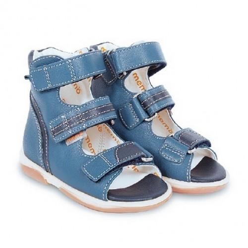 Детская ортопедическая обувь MEMO, синяя модель VIRTUS