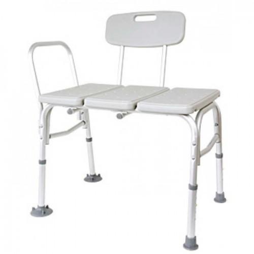 Металлический стул для ванной на четырех ножках с широкой рабочей платформой В800