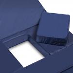 Матрац пятисекционный с санитарным отверстием, с чехлом из водоотталкивающей ткани, 1950х850х80 мм, грузоподъемность до 125 кг