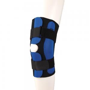 Фиксатор колена F 1293  с полицентричными шарнирами, разъемный, степень фиксации средняя, цвет черный, размер по выбору:S,M,L,XL