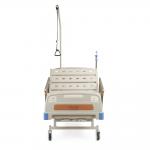 Четырехсекционная функциональная механическая кровать FS 3031W с принадлежностями и регулировкой угла наклона