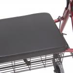 Ходунки-роллаторы с регулировкой по высоте, сидением и вещевой корзиной FS968L