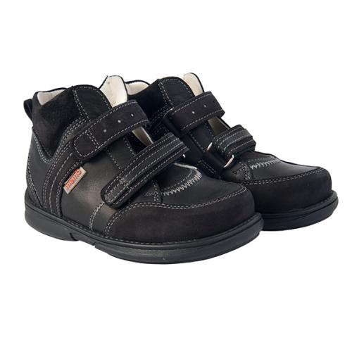 Детская профилактическая обувь, черная модель POLO