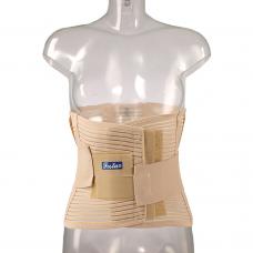 Бандаж FS 5506 облегченный сетчатый поясничный с упругими  пластинами и эластичными лентами, размер по выбору: S,M,L,X,XL,XXL