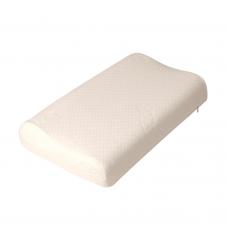 Подушка ортопедическая F 8014 b с мелкой перфорацией из латекса, размер 50*30*7/9 см