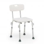 Металлический стул для ванной на четырех ножках В527