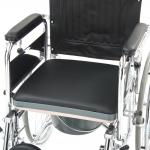 Кресло-коляска с санитарным оснащением FS619GC для инвалидов