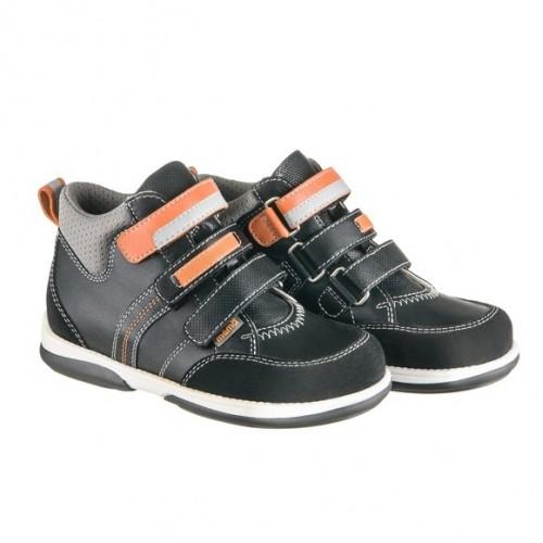 Детская профилактическая обувь, черно-серая модель POLO