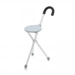 Складная опорная трость-стул FS943L, многофункциональная с регулировкой по высоте 71-93,5 см