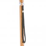 Трость одноопорная YU821 алюминиевая, с регулировкой по высоте 72,5-93,5 см, цвет: структура темное дерево