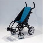 """Кресло-коляска Hoggi ZIP складная по типу """"трость"""" прогулочная для детей с ДЦП"""