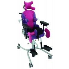 Ортопедическое кресло - коляска LiliSIT на домашней раме.