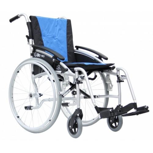 Кресло - коляска Excel G-Lite Pro 24 механическая облегченная для инвалидов VAN OS MEDICAL,Бельгия