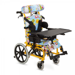 Кресло-коляска FS985LBJ для детей-инвалидов и детей с ДЦП, механическая, ширина сиденья 33 см, под рост 75-120 см, грузоподъемность 75 кг, вес 19,3 кг