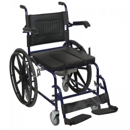Кресло- коляска для инвалидов Excel Xeryus НС-830 с санитарным оснащением,VAN OS MEDICAL,Бельгия