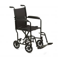 Кресло-каталка Армед 2000 стандартная для инвалидов, грузоподъемность до 110 кг, цвет черный, ширина сиденья по выбору: 43,5 или 46 см