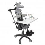 """Ортопедическое кресло - коляска Baffin neoSIT с системой """"Адаптивный позвоночник"""" на домашней раме."""