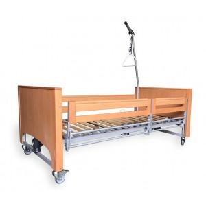 Кровать функциональная с электроприводом Luna с раздельными боковинами Vermeiren