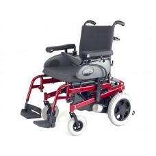 Кресло-коляска инвалидная электрическая Rumba, ширина сиденья регулируемая 40-46 см, максимальная грузоподъемность 125 кг. вес 75 кг