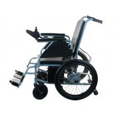 Кресло-коляска инвалидная LY-EB 103-119 с электроприводом, ширина сиденья 46 см, макс. грузоподъемность 120 кг, вес 44 кг