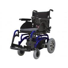 Кресло-коляска для инвалидов LY-EB103-650 с электроприводом, ширина сиденья регулируемая 35-51 см, задние пневмоколеса, макс.нагрузка 130 кг, вес 74 кг