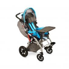 Кресло-коляска H 006 для детей-инвалидов и детей с ДЦП, механическая, под рост 75 - 120 см, грузоподъемность 75 кг, вес 19,5 кг, ширина сиденья по выбору: 18, 19 дюймов
