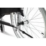 Кресло-коляска инвалидная LY-250-095648  механическая, с ручным приводом, складная, ширина сиденья 48 см, допустимая нагрузка 120 кг, вес 19 кг