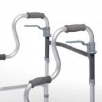 """Ходунки двухуровневые с функцией шага для инвалидов и пожилых людей """"Optimal-Delta"""", с опорой на двух уровнях LY-510"""