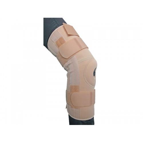 Ортез BKFO C1KN-2801 на коленный сустав фиксирующий, с ребрами жесткости и отверстием (S, M)